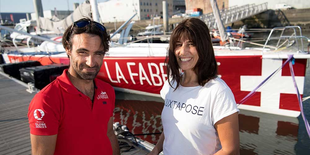 Alan Roura attending Vendée Globe 2020 | Geigele Communications